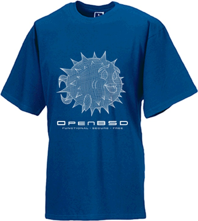 OpenBSD: T-shirts